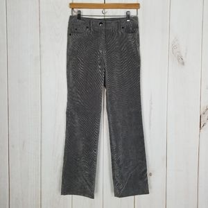 New Directions | Gray Corduroy Pants Size 2 Petite